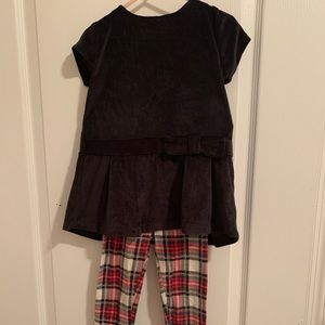 Carter's 2 pc toddler girl 4T outfit